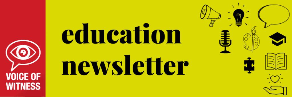 EDU newsletter header