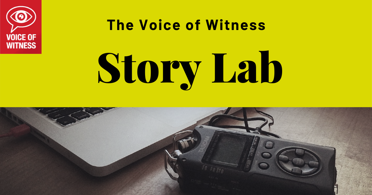 The VOW Story Lab: 2 New Projects!