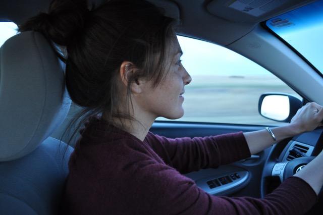 Sara Sinclair Driving