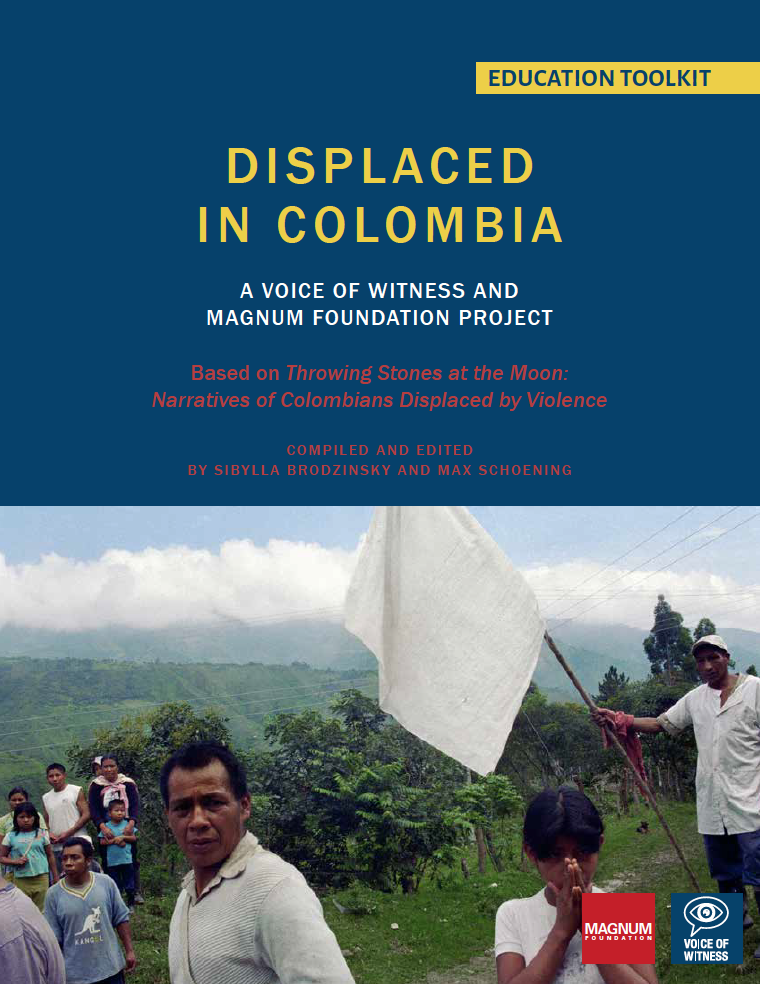 Displaced in Colombia Educators Toolkit