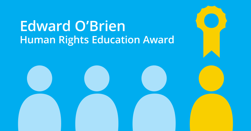 VOW Receives Human Rights Education Award