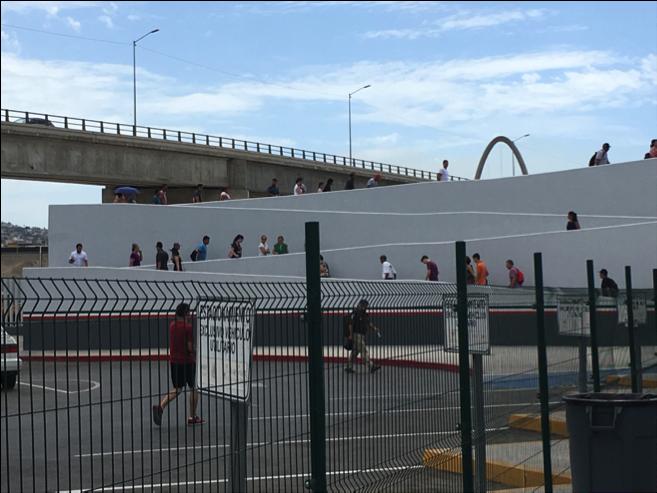 El Chaparral port of entry in Tijuana.