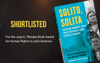 Solito, Solita shortlisted for book award