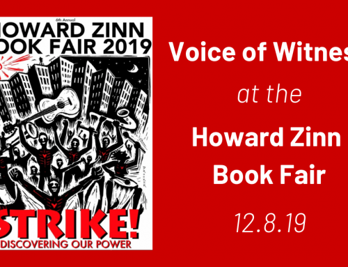 Voice of Witness at the Howard Zinn Book Fair