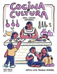 COCINA Y CULTURA Oral History Cookbook Cover