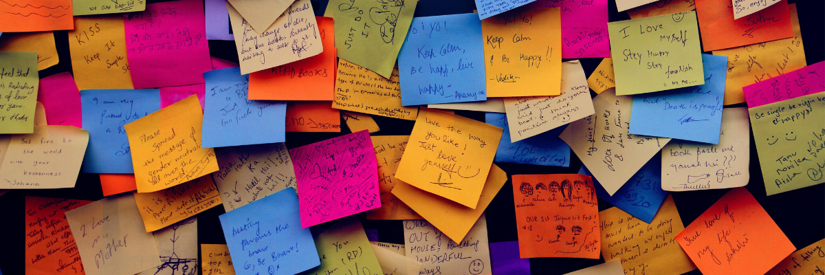 Resources and post-its