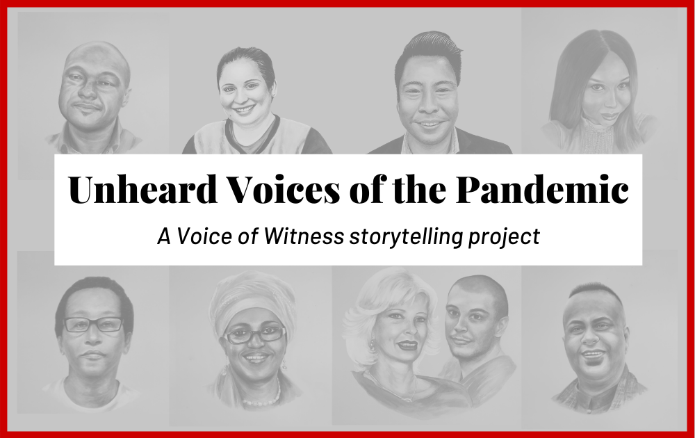 "VOW Launches ""Unheard Voices of the Pandemic"" Storytelling Project"