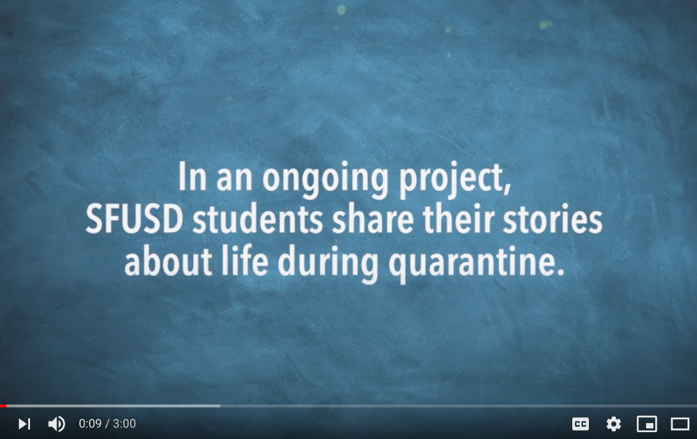 SFUSD student video