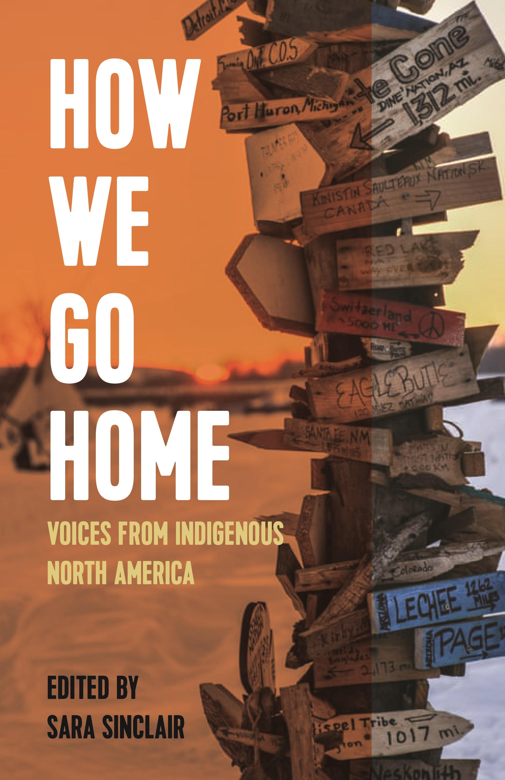 How We Go Home: Voices from Indigenous North America book cover